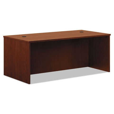 basyx by HON BL Series Desk Shell in Medium Cherry ; UPC: 089191949794