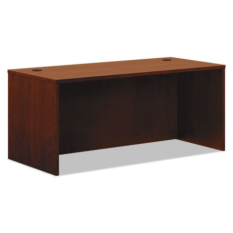 basyx by HON BL Series Desk Shell in Medium Cherry ; UPC: 089191950189