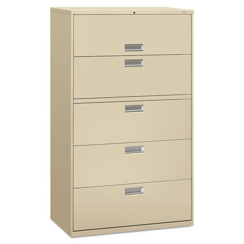 HON Brigade 600 Series Lateral File in Putty ; UPC: 089192063826