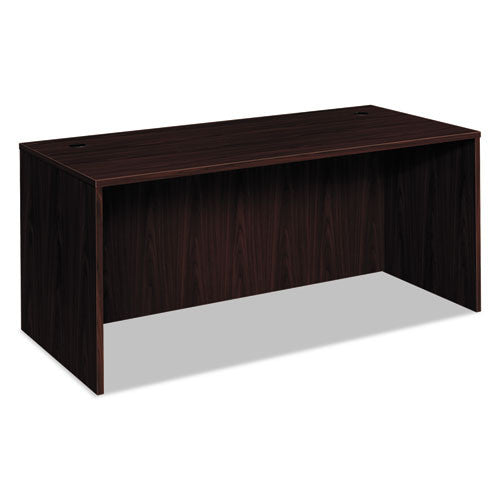 basyx by HON BL Series Desk Shell in Mahogany ; UPC: 791579963369