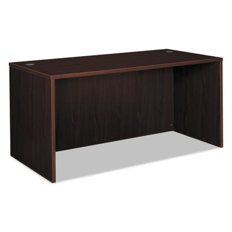 basyx by HON BL Series Desk Shell in Mahogany ; UPC: 791579963390