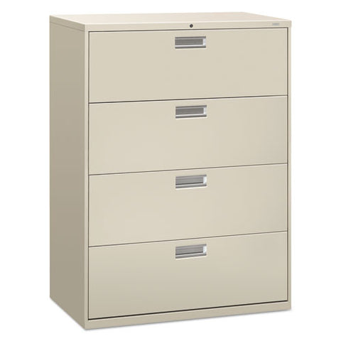 HON Brigade 600 Series Lateral File in Light Gray ; UPC: 089192103362