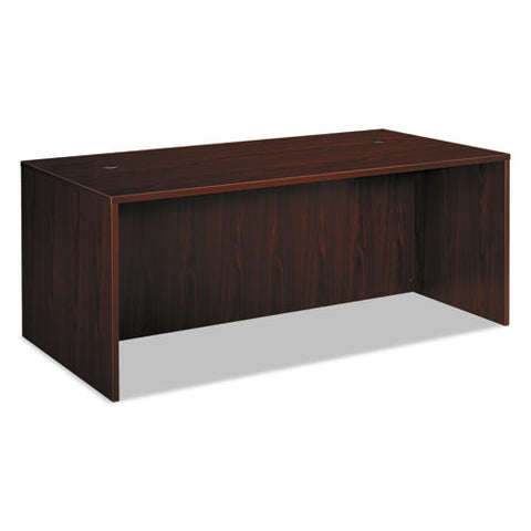 basyx by HON BL Series Desk Shell in Mahogany ; UPC: 791579963345