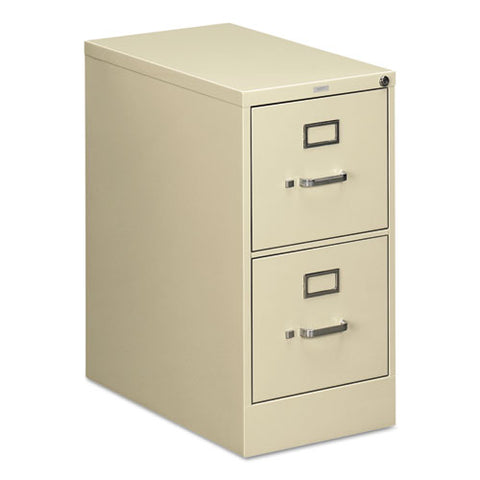 "HON 510 Series Vertical File | 2 Drawers | Letter Width | 15""W x 25""D x 29""H 