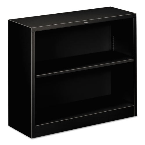 "HON Brigade Steel Bookcase | 2 Shelves | 34-1/2""W x 12-5/8""D x 29""H 