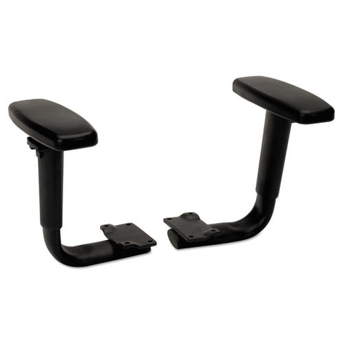 HON Volt Height-Adjustable Arms | Black Finish ; UPC: 035349715049 ; Image 1