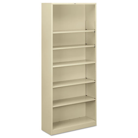 HON Brigade Steel Bookcase in Putty ; UPC: 631530495419