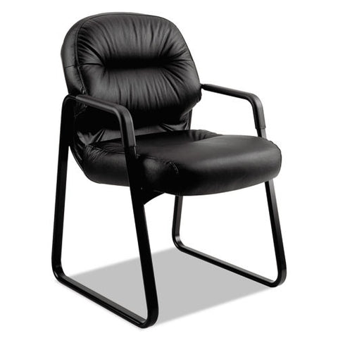 HON Pillow-Soft Guest Chair in Black ; UPC: 645162042613
