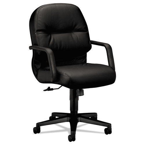 HON Pillow-Soft Mid-Back Chair in Black ; UPC: 020459337700