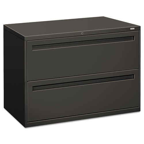 HON Brigade 700 Series Lateral File in Charcoal ; UPC: 089192868926