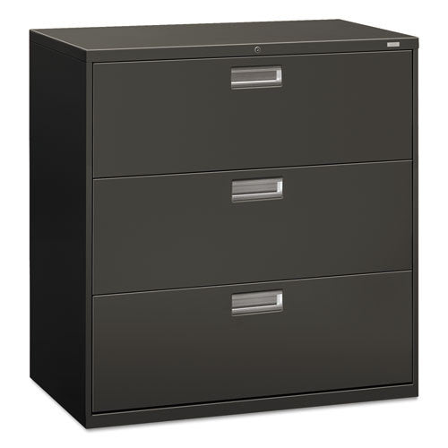 HON Brigade 600 Series Lateral File in Charcoal ; UPC: 089192852901