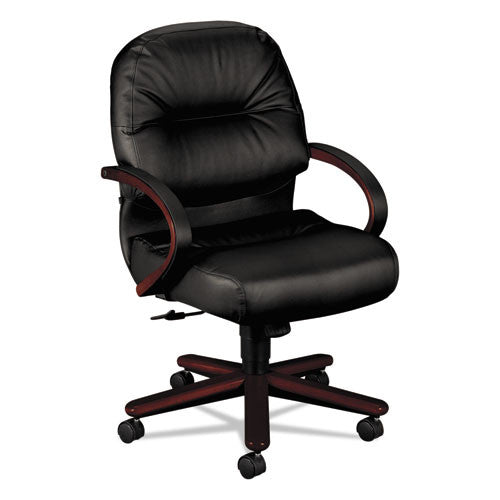 HON Pillow-Soft Executive Mid-Back Chair in Black ; UPC: 782986666660