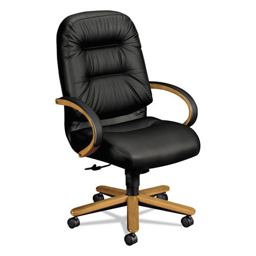 HON Pillow-Soft Executive High-Back Chair in Black ; UPC: 089192756759