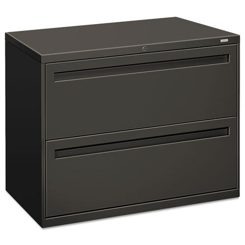 HON Brigade 700 Series Lateral File in Charcoal ; UPC: 089192868919