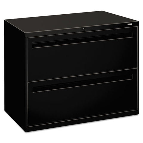 HON Brigade 700 Series Lateral File in Black ; UPC: 089192863464