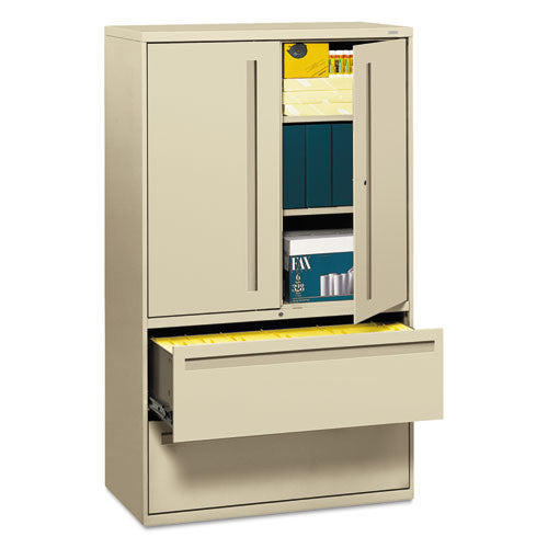 HON Brigade 700 Series Lateral File in Putty ; UPC: 020459107471