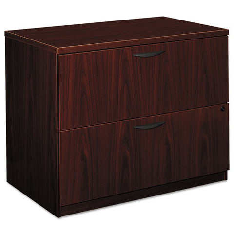 basyx by HON BL Series Lateral File in Mahogany ; UPC: 089192098880