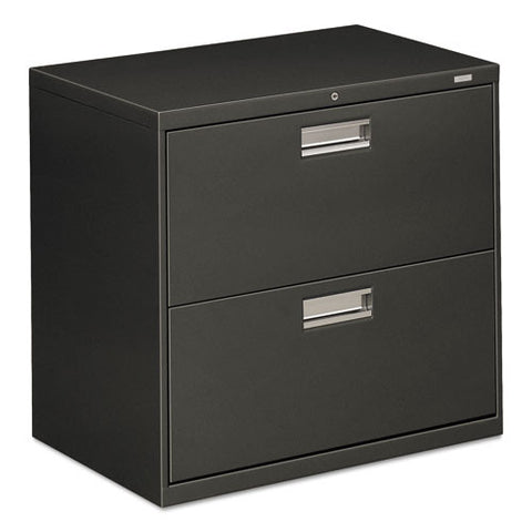 HON Brigade 600 Series Lateral File in Charcoal ; UPC: 089192861897