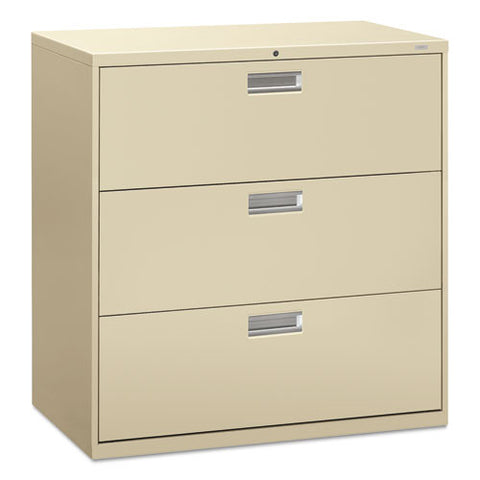 HON Brigade 600 Series Lateral File in Putty ; UPC: 089192063529