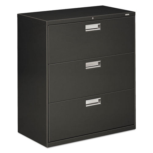 HON Brigade 600 Series Lateral File in Charcoal ; UPC: 089192854264