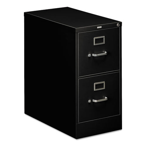 HON 310 Series Vertical File, 2 Drawers, Letter Width, Black Finish ; UPC: 089192040063