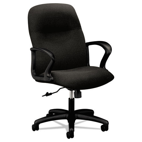 HON Gamut Mid-Back Chair in Black ; UPC: 645162752369