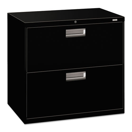 HON Brigade 600 Series Lateral File in Black ; UPC: 089192061358