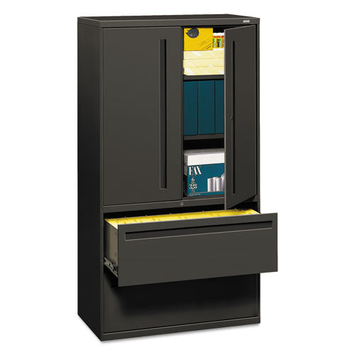 HON Brigade 700 Series Lateral File in Charcoal ; UPC: 020459107464
