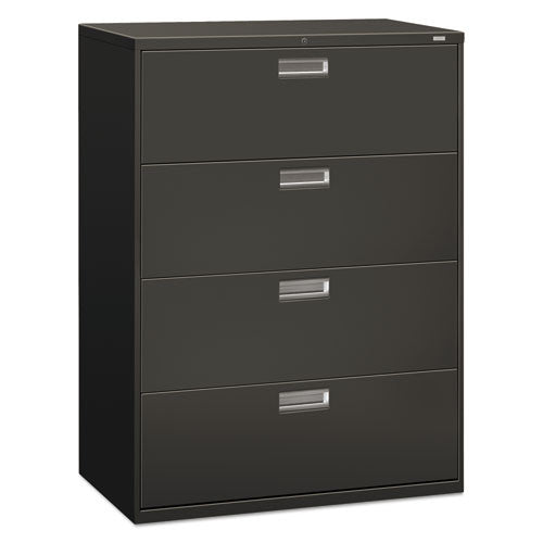 HON Brigade 600 Series Lateral File in Charcoal ; UPC: 089192854271