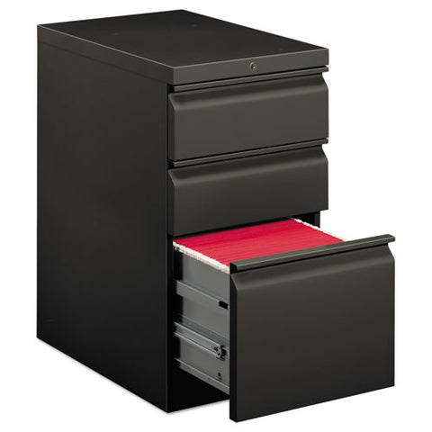 "HON Brigade Mobile Pedestal | 2 Box / 1 File Drawers | Full Radius Pull | 15""W x 22-7/8""D x 28""H 