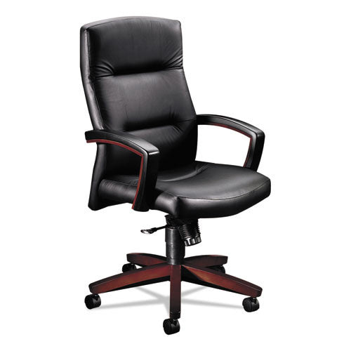 HON Park Avenue Collection High-Back Chair in Black ; UPC: 020459565455