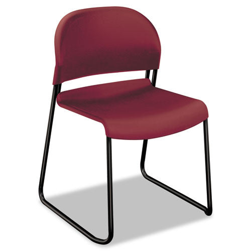 HON GuestStacker High-Density Stacking Chair in Mulberry ; UPC: 791579239839