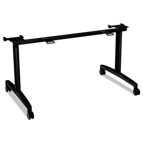 "HON Huddle Table Base Kit for 30""D x 60-72""W Tops in Black ; UPC: 089191359791"