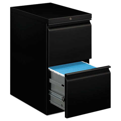 "HON Brigade Mobile Pedestal | 2 File Drawers | Full Radius Pull | 15""W x 22-7/8""D x 28""H 