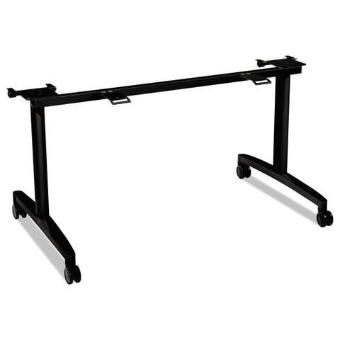 "HON Huddle Flip-Top Table Base Kit | For 24""D x 60-72""W Tops 