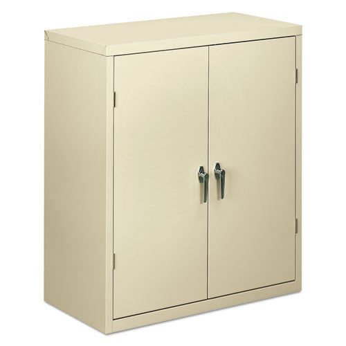 HON Brigade Storage Cabinet in Putty ; UPC: 089192705672