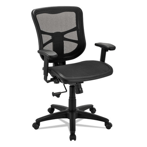 Alera Elusion Series Air Mesh Mid-Back Swivel/tilt Chair ; UPC: 42167393090