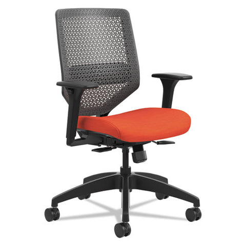 HON Solve Mid-Back Task Chair in Bittersweet