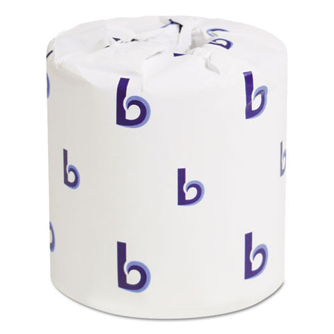 Two-Ply Toilet Tissue, White, 4 1/2 x 3 Sheet, 500 Sheets/Roll, 96 Rolls/Carton BWK6180