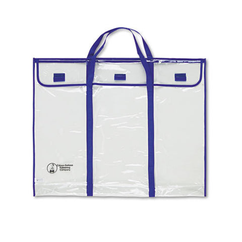 Carson-Dellosa Bulletin Board Expandable Storage Bag ; (044222144463); Color:Clear