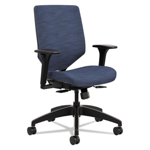 HON Solve Mid Back Task Chair in Midnight ; UPC: 888206776512
