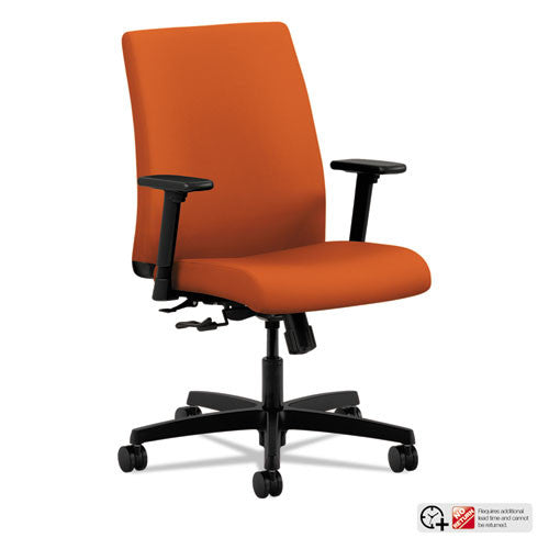 HON Ignition Low-Back Task Chair in Tangerine ; UPC: 745123714846