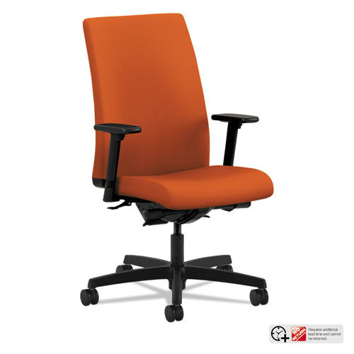 HON Ignition Mid-Back Task Chair in Tangerine ; UPC: 089192416738