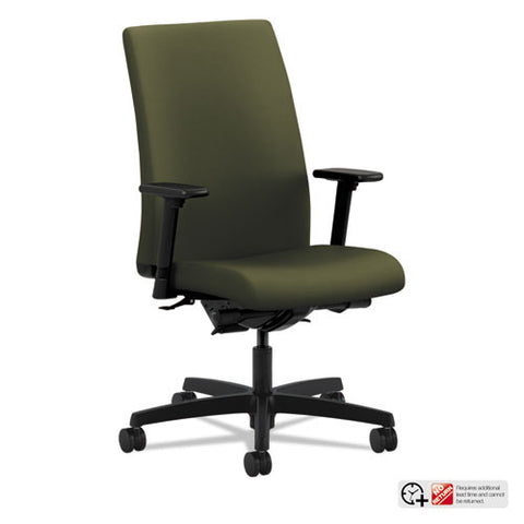 HON Ignition Mid-Back Task Chair in Olivine ; UPC: 089191888871