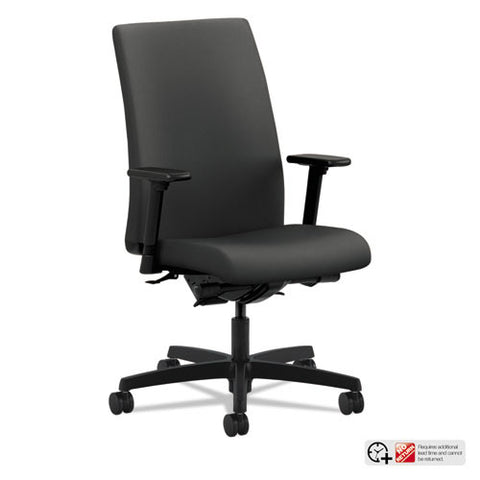HON Ignition Mid-Back Task Chair in Iron Ore ; UPC: 020459296793