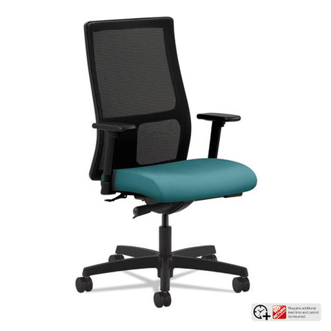 HON Ignition Mid-Back Mesh Task Chair in Glacier ; UPC: 782986530961