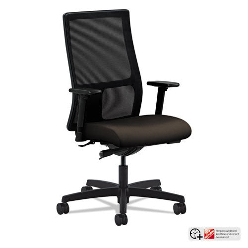 HON Ignition Mid-Back Mesh Task Chair in Espresso ; UPC: 089192196708
