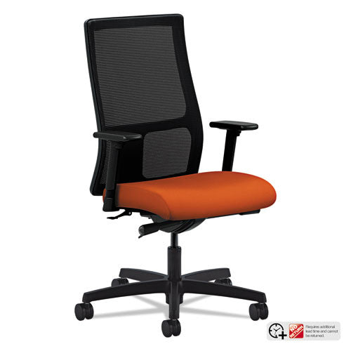 HON Ignition Mid-Back Mesh Task Chair in Tangerine ; UPC: 089191863311