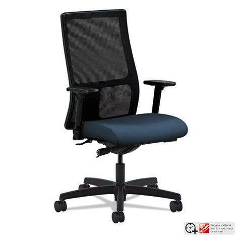 HON Ignition Mid-Back Mesh Task Chair in Cerulean ; UPC: 089191582700