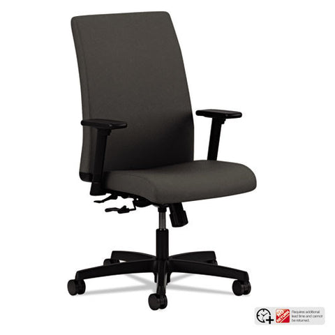 HON Ignition Low-Back Task Chair in Iron Ore ; UPC: 089192005345